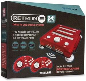 Hyperkin RetroN 3 Video Game System For NES SNES GENESIS