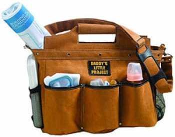 Lillian Rose Manly Diaper Bag