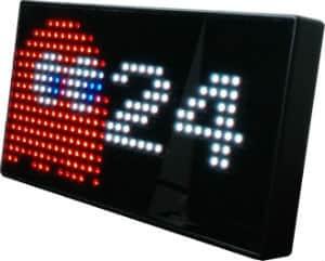 PAC MAN Premium LED Desk Clock