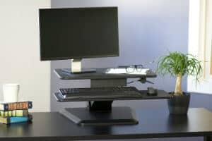 VIVO Height Adjustable Standing Desk 1