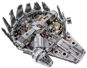 LEGO Star Wars Millennium Falcon 75105 Building Kit 2