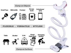 Bendy Armz Adjustable Stroller Clip