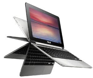 ASUS C100PA DB02 10.1 Inch Touch Chromebook Flip 2 3