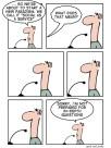 Cartoon no Geek And Poke