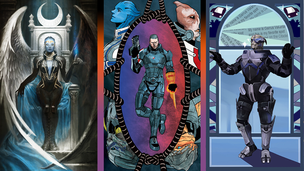"""This """"Mass Effect"""" Tarot Is The Harbinger Of Your Fortune"""