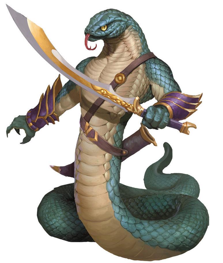 Dragons Naga And Dungeons