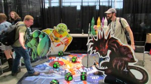 PAX East playing giant King of Tokyo