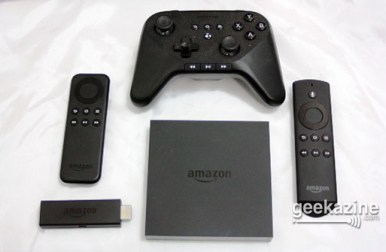 Amazon Fire TV, Fire TV Stick and Game Controller