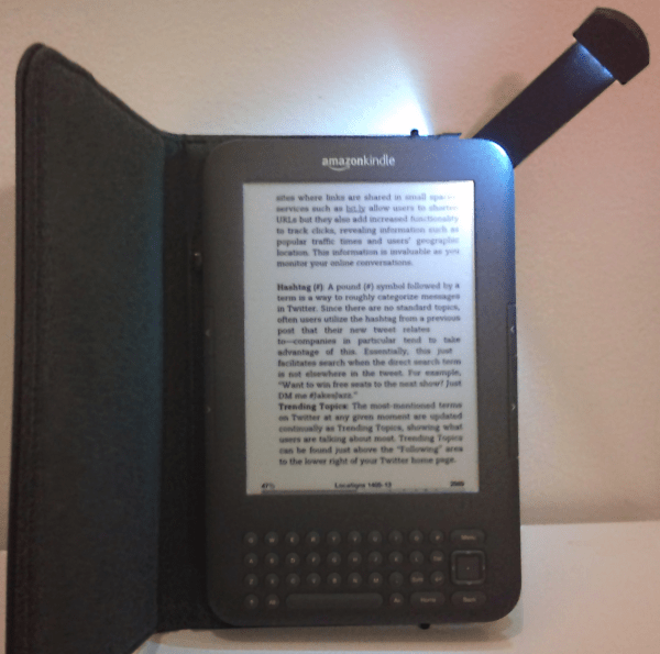 Kindle w/Light