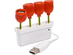 Tulipes USB - Le printemps est là!