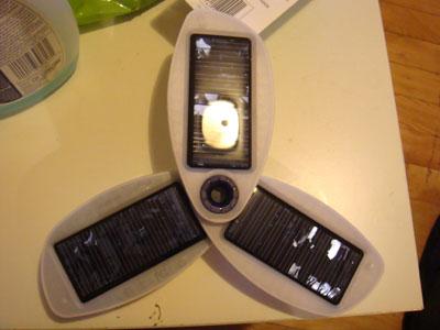 Chargeur solaire pour téléphone cellulaire