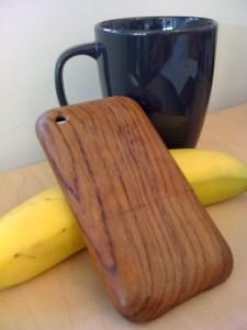 Cover de bois de mon iPhone