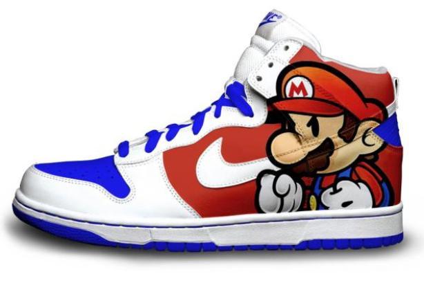 Mario's dunks