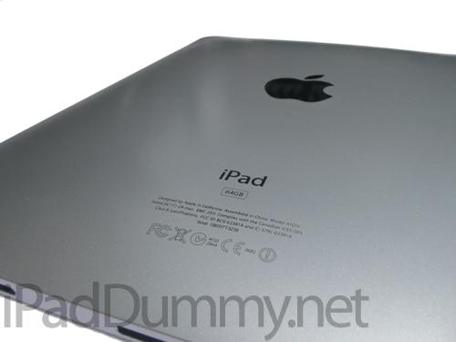 Le iPad Dummy de dos