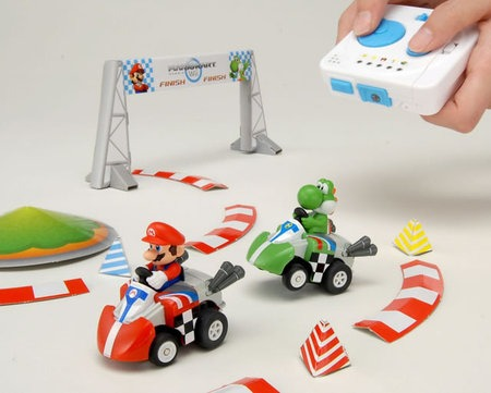 Mario Kart en voitures téléguidées