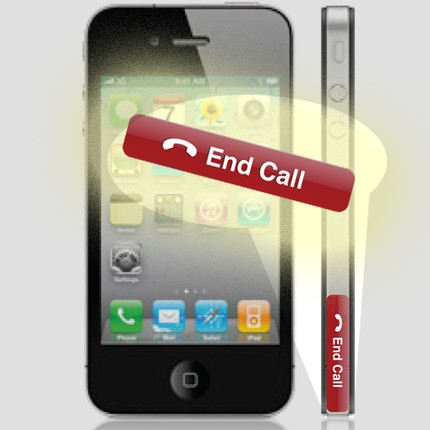 Nouveau bouton End Call pour iPhone 4