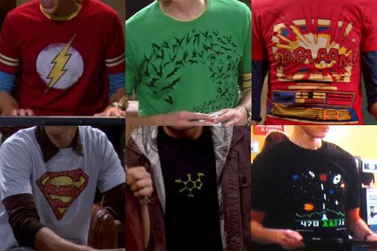 Les t-shirts de Sheldon sur SheldonShirts.com - The Big Bang Theory