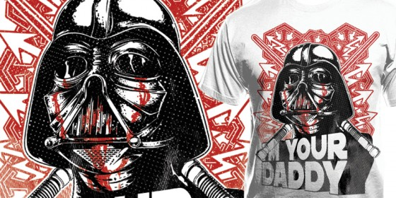 T-shirt Darth Vader:I'm you Daddy