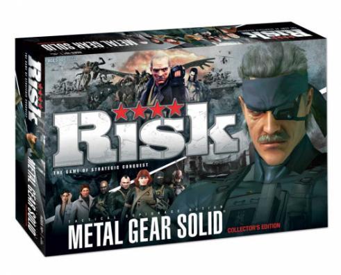 Boite du jeu Risk Metal Gear Solid