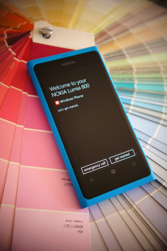 Nokia Lumia 800 - premier démarrage