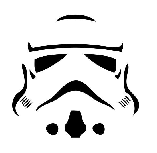 Citrouille Stormtrooper - Halloween