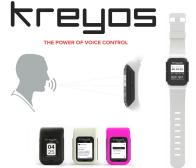 Kreyos Meteor Smartwatch Voice Control