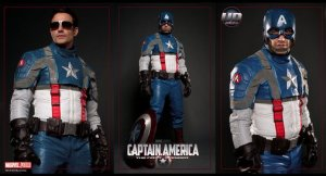 Captain america Moto