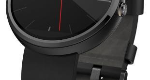 Moto 360 - Dynamic Black