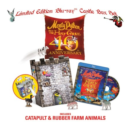 Édition de collection 40e anniversaire Monty Python and the Holy Grail