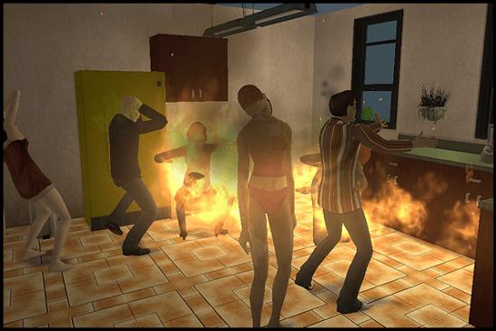 Incendie - 5 meilleures façons de tuer les Sims