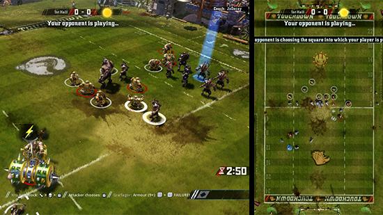 Une interface simple et une caméra efficace facilite la lecture du jeu