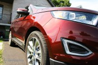 Avant angle passager- Ford Edge 2015