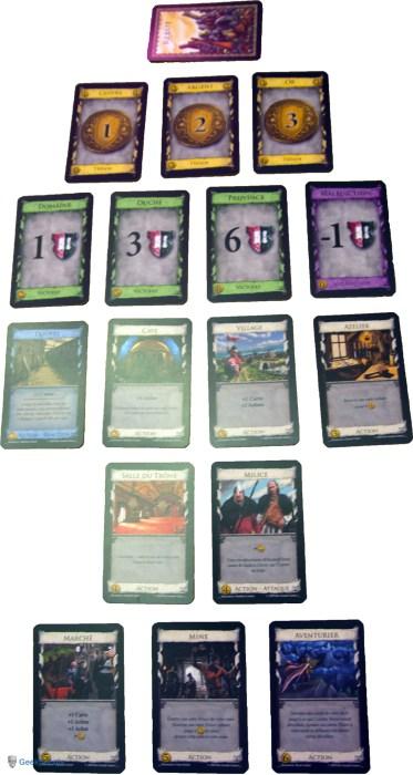 Dominion - Exemple de jeu