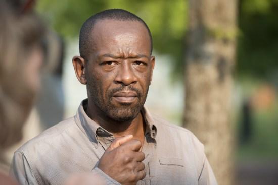 Lennie James / Morgan Jones - The Walking Dead Saison 6 Episode 7 - Crédit photo : Gene Page/AMC