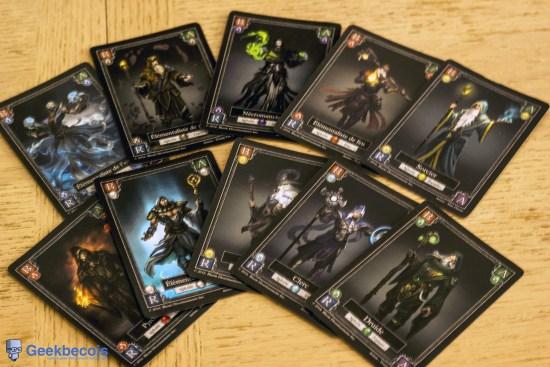 Cartes de magiciens | Dark Mages