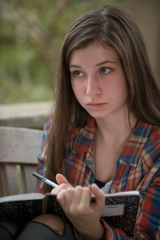 Katelyn Nacon / Enid - The Walking Dead Saison 6 Épisode 10 - Crédit photo : Gene Page/AMC