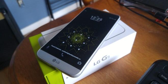 LG G5 le téléphone modulaire!