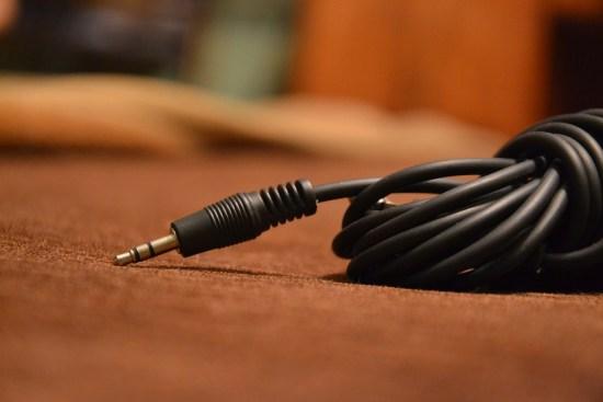 Câble jack 3.5 mm. Crédit: Anna Polski | L'USB-C la nouvelle coqueluche de l'audio?