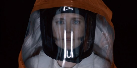 Amy Adams démontre encore une fois son grand talent d'actrice dans L'Arrivée