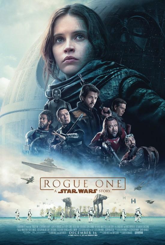 L'affiche officielle de Rogue One: a Star Wars story
