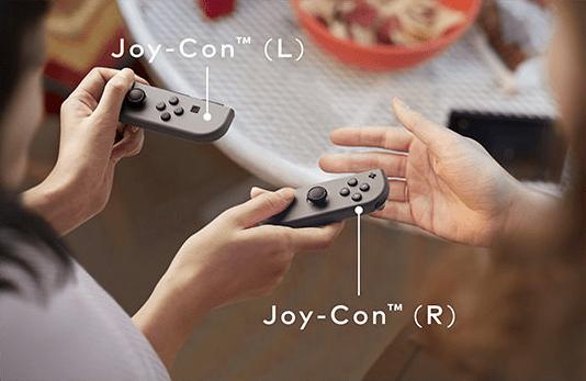 Joy-Con séparés