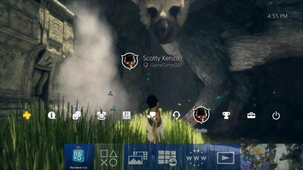 PlayStation 4 Sasuke - fond personnalise