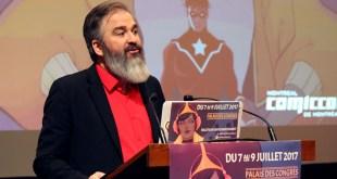 Comiccon de Montréal 2017 - Conférence de presse