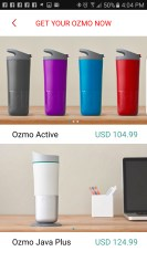 Achat intégrer | Ozmo Smart cup