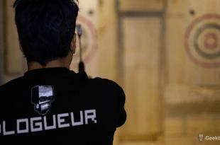 Rage centre de lancer de la hache à Montréal