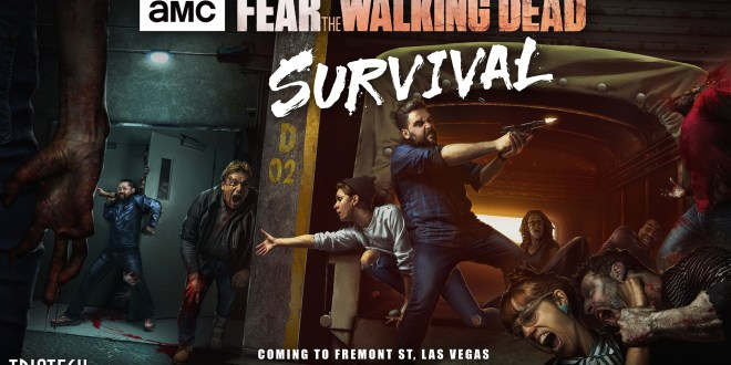 Une maison hantée Fear The Walking Dead par Triotech