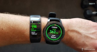 Résultat | Samsung Gear S3 VS Gear Fit2