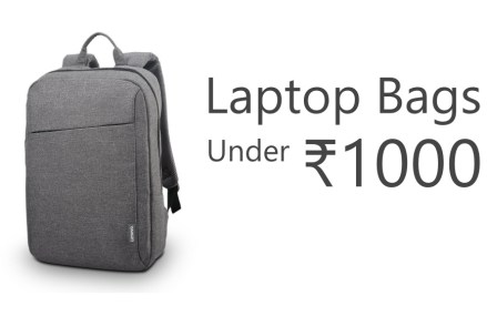 Best Laptop Backpacks That You Can Buy Under 1000 Rupees