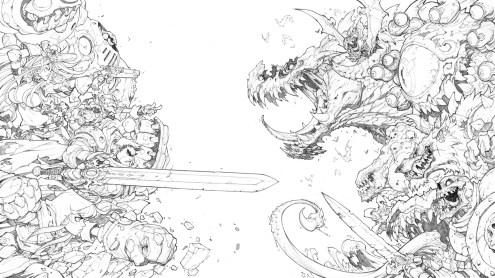 Battle Chasers by Joe Madureira
