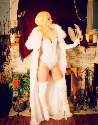 Emma Frost Cosplay 26